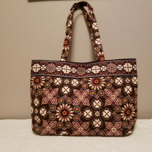 Vera Bradley East West Tote Canyon